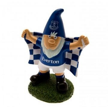 Everton Garden Gnome with Flag